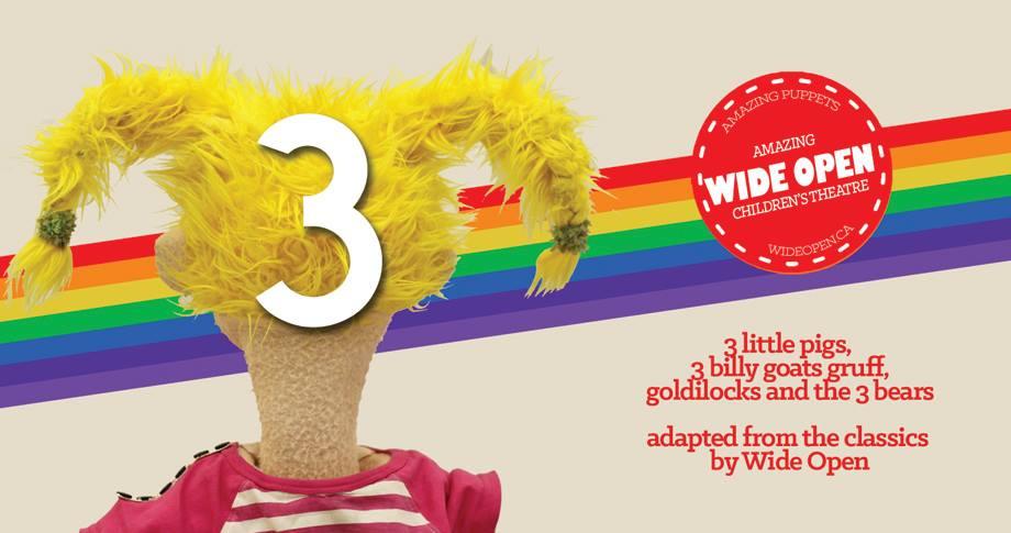 three-1 / Wide Open Children's Theatre