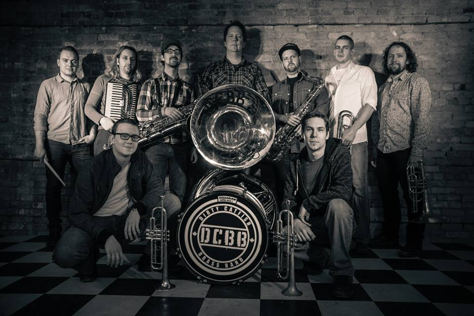 Dirty Catfish Brass Band : Jenn Kostesky